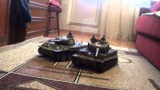 Радиоуправляемые танки Taigen(Управление Танками с одного пульта., 2015-11-08T09:25:37.000Z)