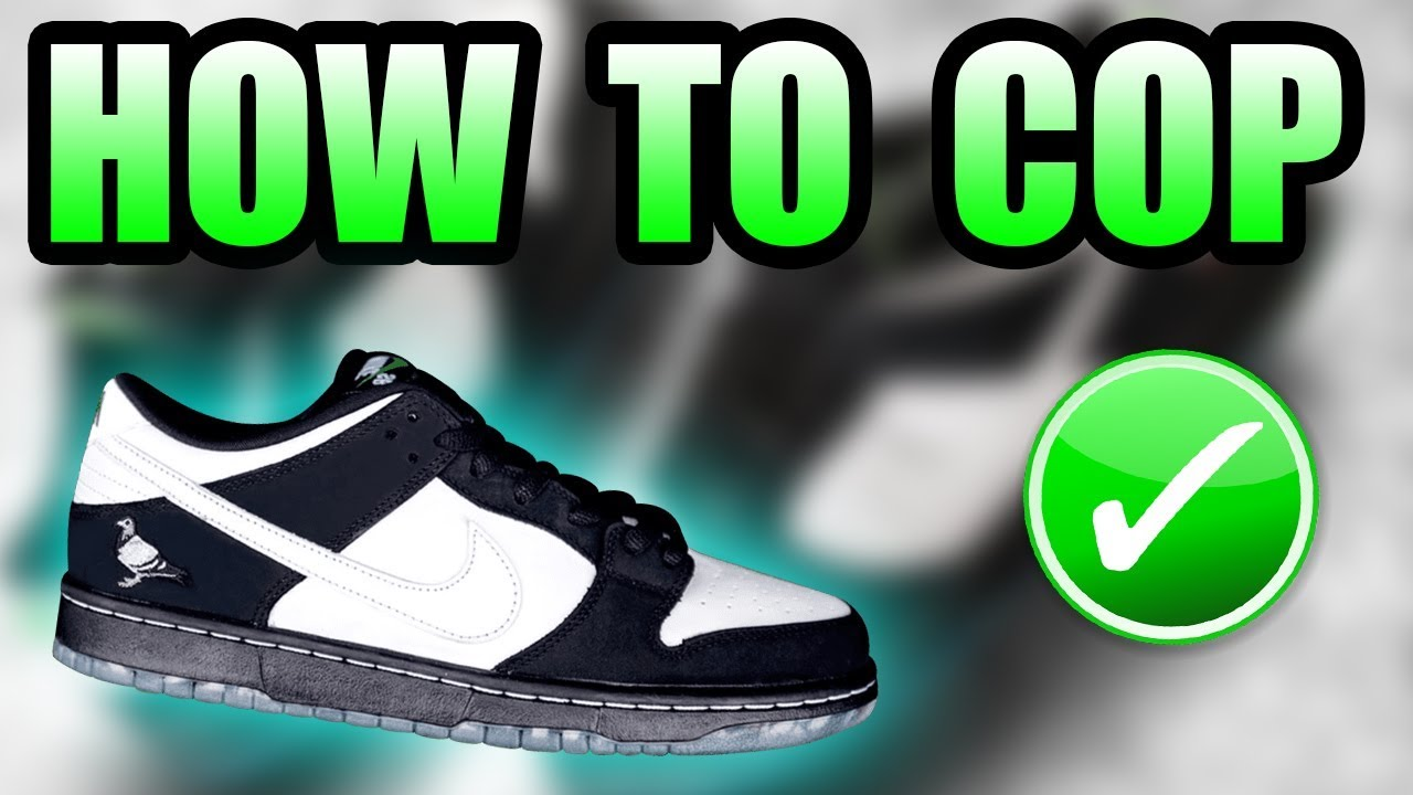 low priced f45dc 9dc1e How To Get The PANDA PIGEON SB | Staples X Nike Panda Pigeon SB Dunk Low  Release Info
