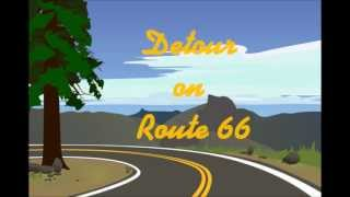 Detour on Route 66