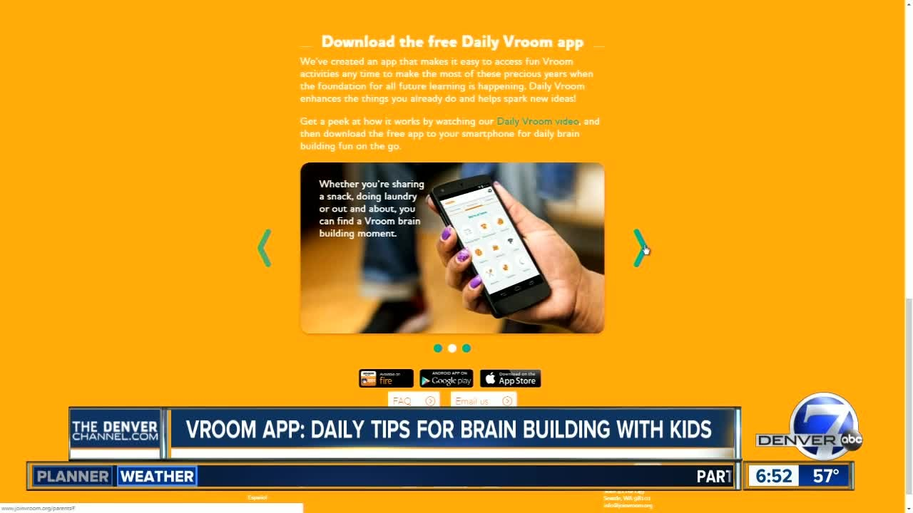 vroom app daily tips for parents to build kids brains youtube rh youtube com
