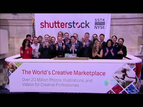 Shutterstock Celebrates IPO on the NYSE