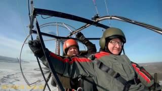 Открытие парапланерного сезона в Лесосибирске