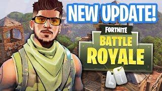 NEW UPDATE!! *50 vs 50 BATTLE* (Fortnite Battle Royale)