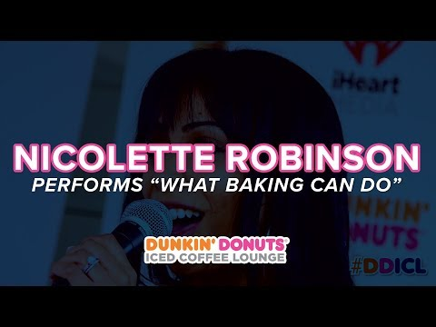 Nicolette Robinson Performs 'What Baking Can Do' Live  DDICL