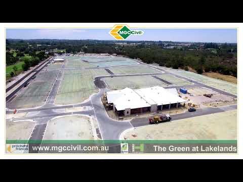 MGC Civil Drone Footage At The Green Lakelands Western Australia 27/2/19