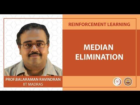 Lec 10 - Median Elimination