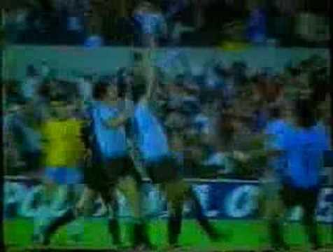 Gol de Uruguay Victor Diogo a Brasil Copa America 1983