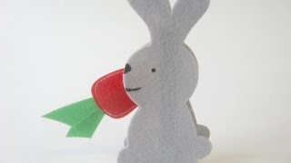 Make A Cute Bunny Clothespin Game - Diy Crafts - Guidecentral