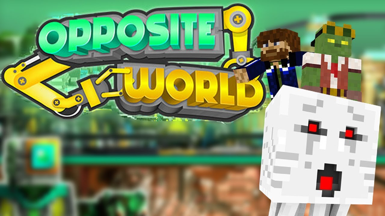 Opposite World w  Pixlriffs - minecraft adventure map for Bedrock Edition
