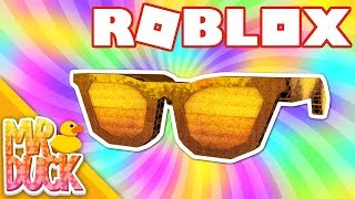 HOW TO GET DIY GOLDEN BLOXY SHADES - ROBLOX BLOXY EVENT