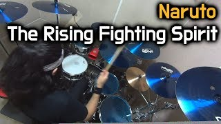 Naruto Ost - The Rising Fighting Spirit - Drum Cover (Boogie Drum)