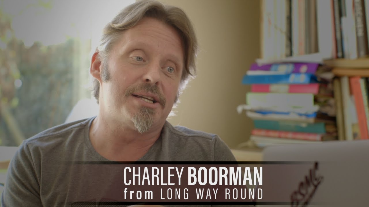 Charley Boorman from LONG WAY ROUND talking about A STORY ...