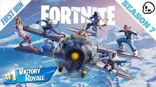 First win of Season 7! (Fortnite Battle Royale)