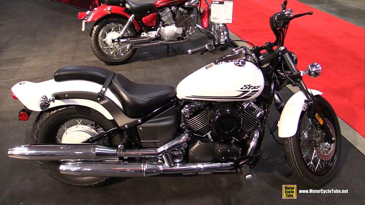 2016 Yamaha V Star 650 Custom Walkaround Toronto Motorcycle Show