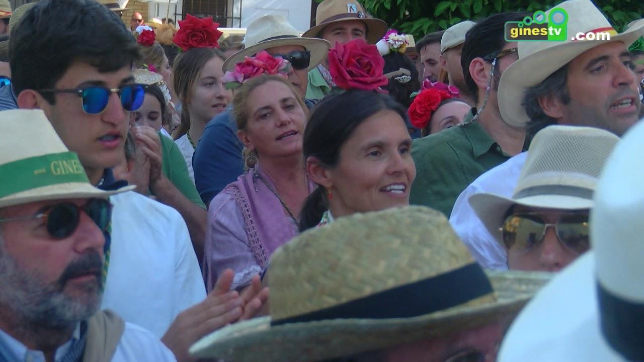 Resumen del paso por Quema y Villamanrique del Rocío de Gines 2019.