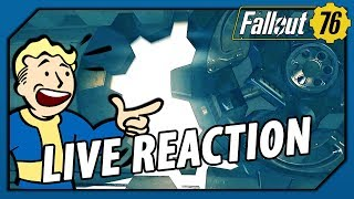 FALLOUT 76 - E3 CONFERENCE LIVE REACTION