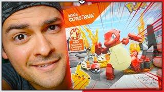 LEGO de Pokémon?! Mega Construx do Charmeleon