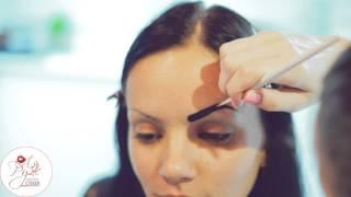 Биотатуаж бровей хной и окрашивание бровей краской(, 2015-09-03T05:55:58.000Z)