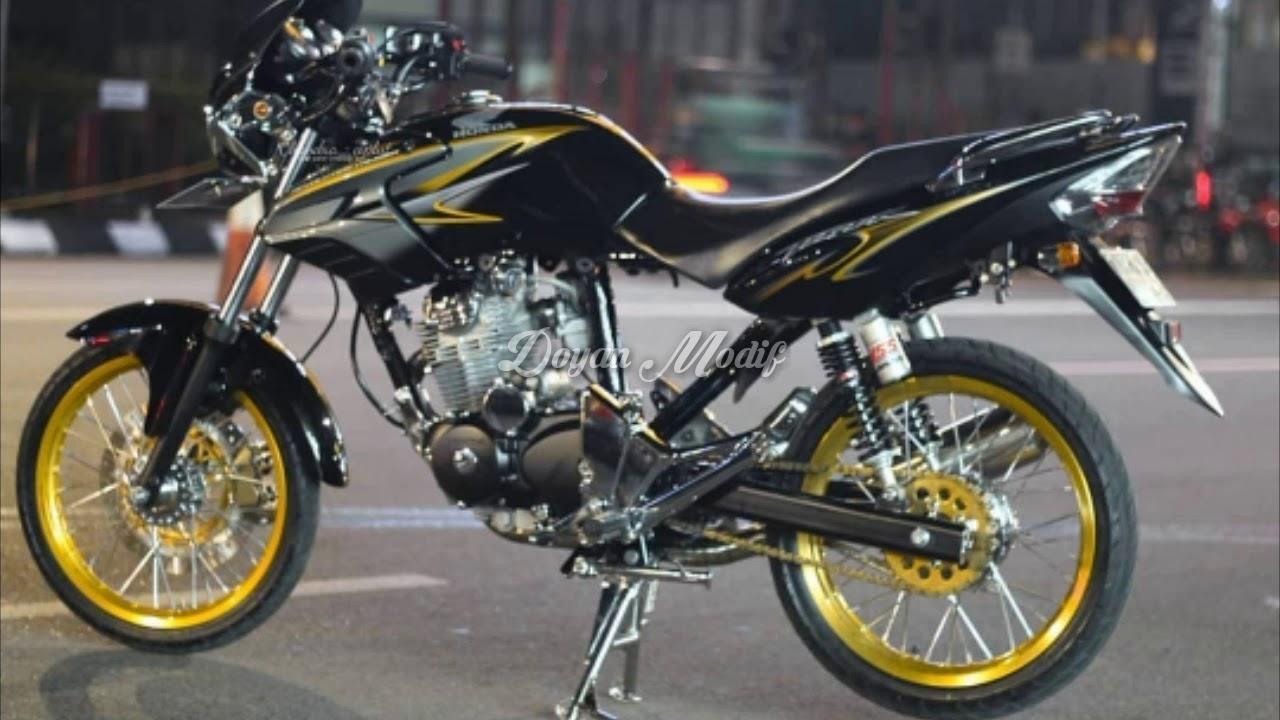 Modifikasi Motor Tiger Revo Jari Jari Arena Modifikasi