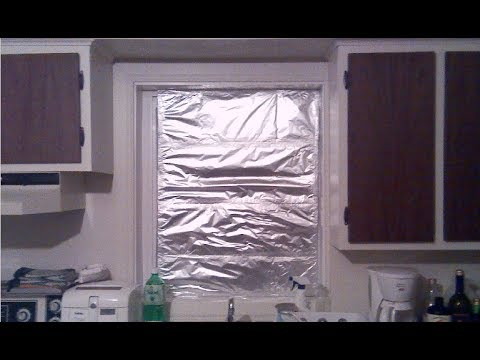 How To Isolate A Window For The Winter Fast And Easy