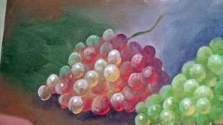 Tirando Dúvidas Sobre Pintura - Como pintar uvas