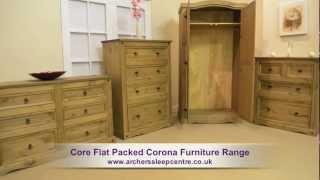 Core Flat Packed Corona Furniture Range