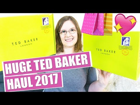 HUGE Ted Baker Haul!! 2017