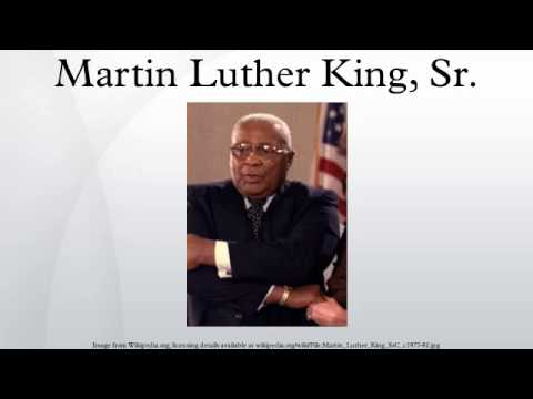 Martin Luther King, Sr. - YouTube