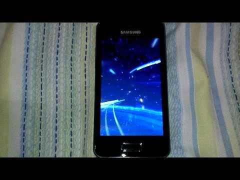 Boot Animation Samsung Galaxy S Advance