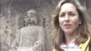 China - Longmen Grottoes or Caves - Travel - Jim Rogers World Adventure