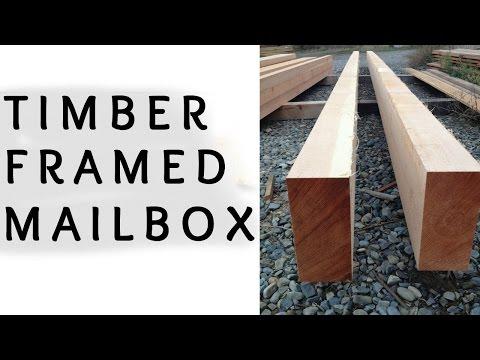 DIY Timber Framed Mailbox