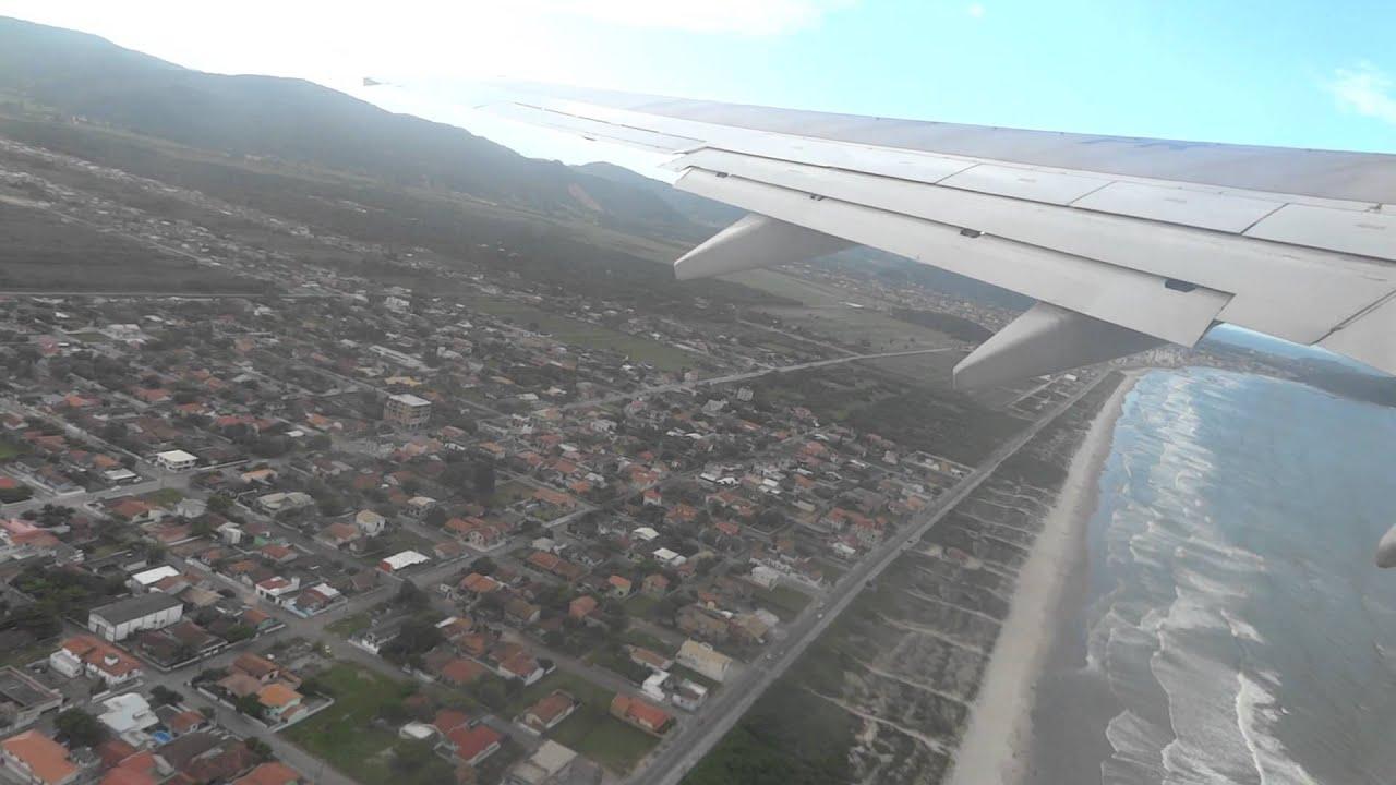 Aeroporto Navegantes Santa Catarina : Decolagem boeing  gol aeroporto de navegantes
