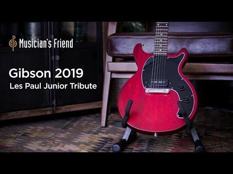 Gibson 2019 Les Paul Junior Tribute DC Electric Guitar Demo