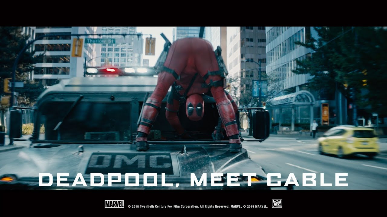 Download Deadpool 2 ['Deadpool, Meet Cable' | Green Band in HD (1080p)]