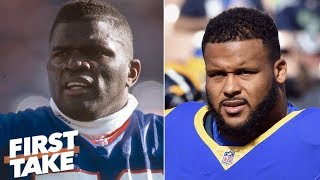 Aaron Donald's impact similar to Lawrence Taylor | First Take