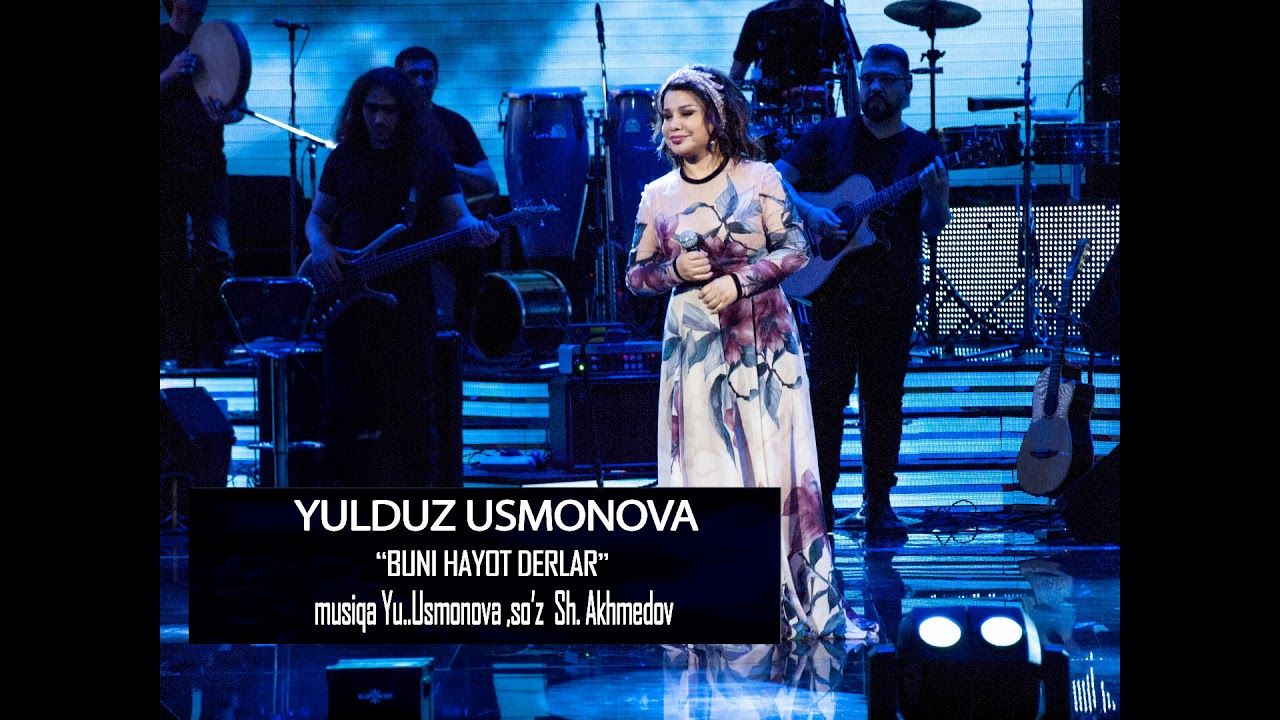 YULDUZ USMONOVA- BUNI HAYOT DERLAR(SEN VA MEN UCHUN)MUSIC VERSION