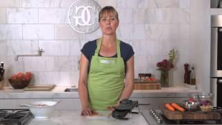 Make a Salad wİth the Chef'n Pull'n Slice Mandoline | Williams-Sonoma