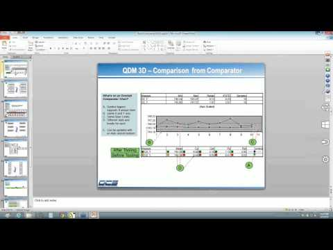 Use SPC Reports to Compare and Contrast Data Instantly - QDM 3D