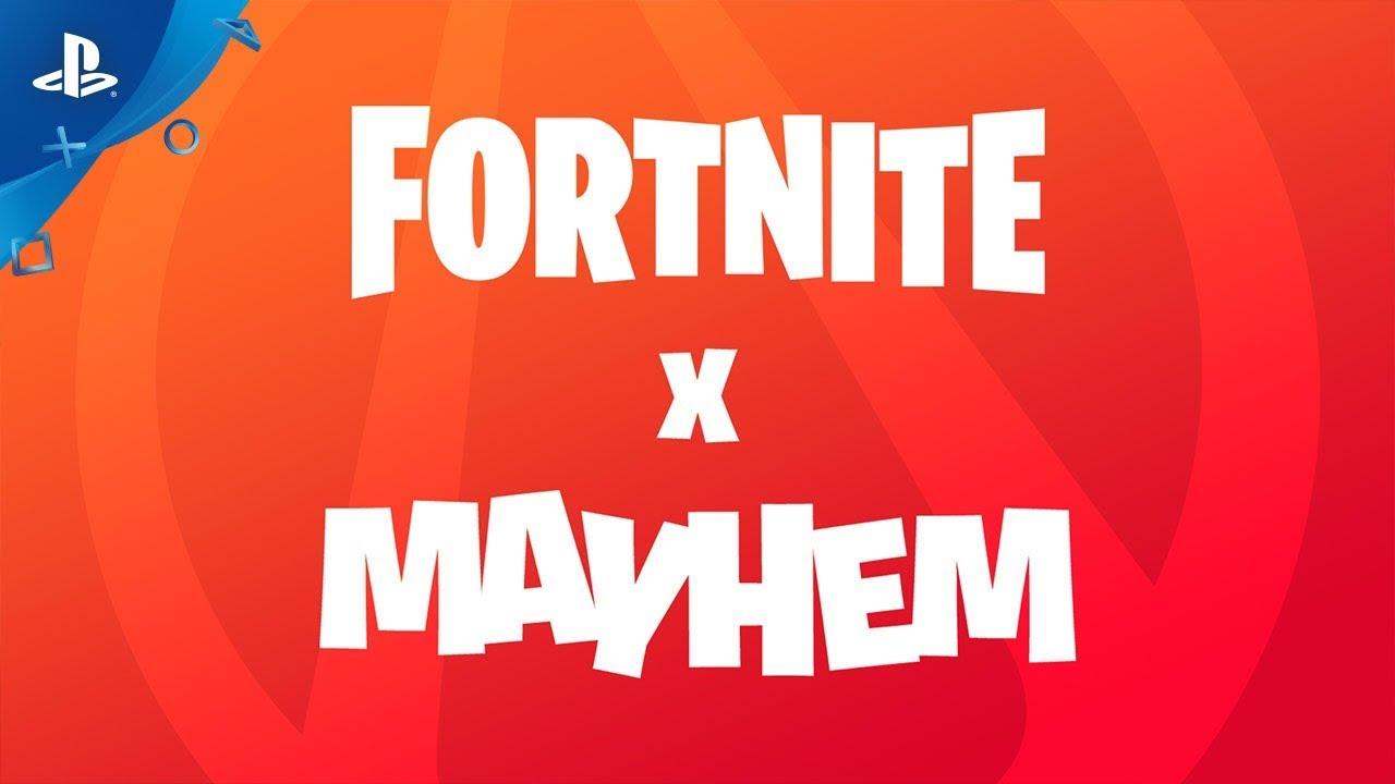 Fortnite Creative - Fortnite x Mayhem