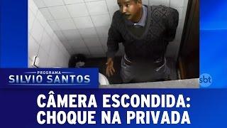 Câmera Escondida (25/09/16) - Choque na Privada
