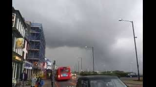 Supercell Cloud Formation Over Morecambe Tornado