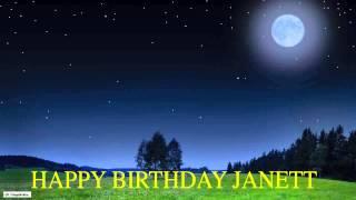 Janett  Moon La Luna - Happy Birthday