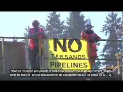 Non aux pipelines de sables bitumineux