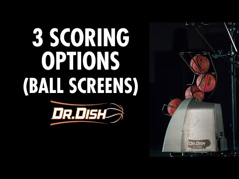 3 Scoring Options off of Ball Screens