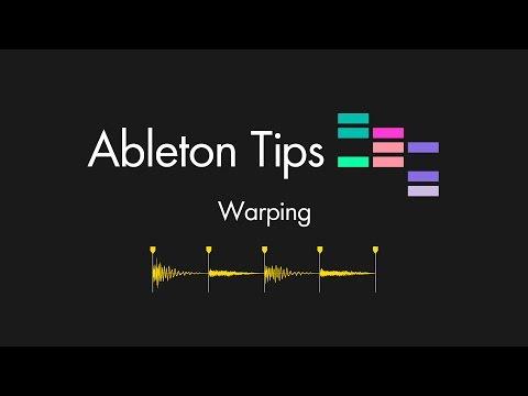 Ableton Tips - Warping (parte 1) Tutorial en Español