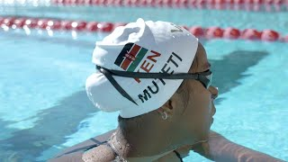 Swimmer Emily Muteti Qualifies for the Olympics
