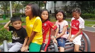 Aunt can't say NO CHALLENGE! halfday /the zuna family/ singapore youtuber