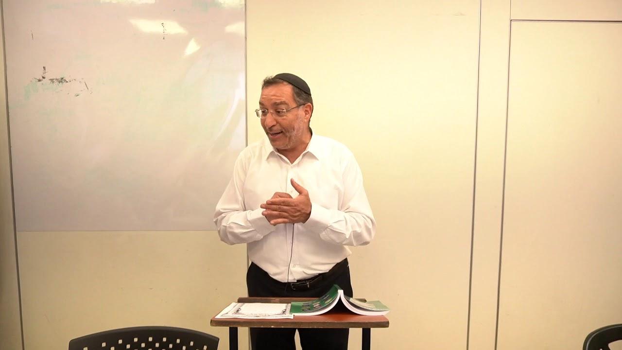 דיני כתובה - צורבא מרבנן - הרב בן ציון אלגאזי