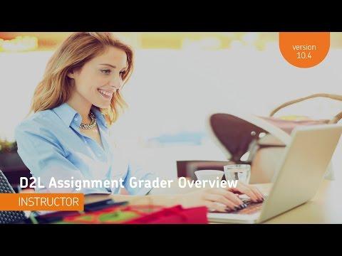 D2L Assignment Grader - Overview - Instructor