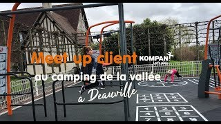 Meet up client à Deauville au camping de la vallée